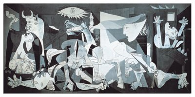 Cheap Fun Educa Borras 1000 Piece Miniature Puzzle-Guernica, P. Picasso (B003U8HI86)