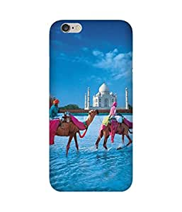 Camels Round Taj Apple iPhone 6 Case