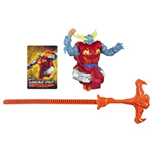 Beyblade Shogun Steel BeyWarriors BW-01 Samurai Ifrit Battler