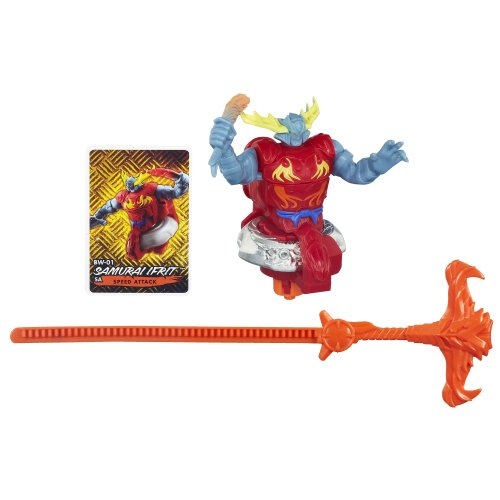 Beyblade Shogun Steel BeyWarriors BW-01 Samurai Ifrit Battler - 1