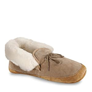 Old Friend Unisex 481192 Soft Sole Slipper,Chestnut,Large (Women's 11-12 M/Men's 10-11 M)