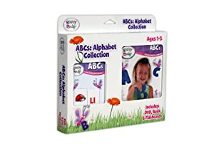 Brainy Baby ABCs Alphabet Collection Book/ Flashcards/ DVD