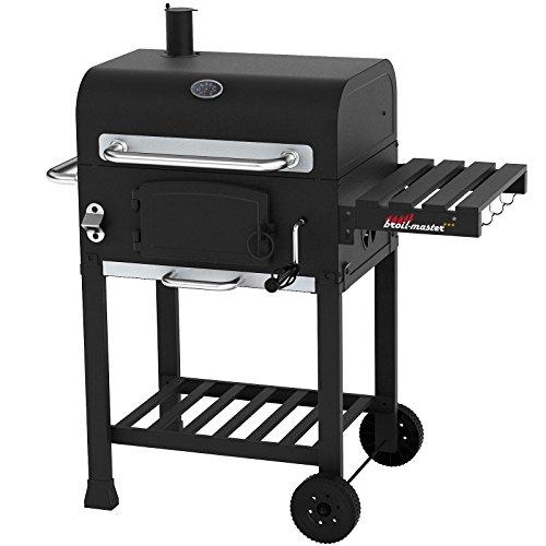 Broilma-Ster-Grill-BBQ-Smoker-Grill-Cart-Black-90-x-67-x-106-cm-BBQS05