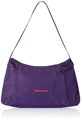Fastrack Polyester Purple Hobo Bag (A0334NPR01)  available at amazon for Rs.795