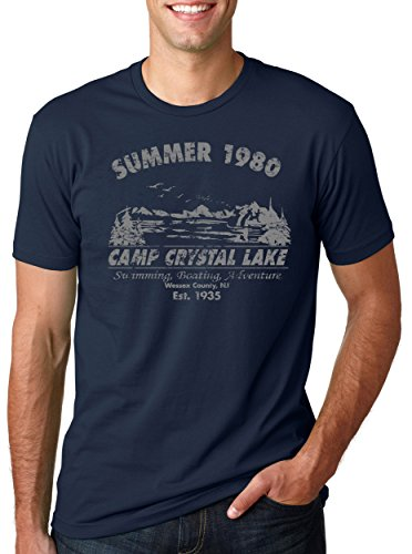 Camp Crystal Lake Summer 1980 T-Shirt Vintage Movie Tee XL