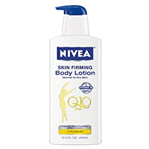 Nivea Skin Firming Hydration Body Lotion with Q10 Plus, 13.5 fl oz