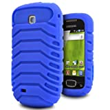 Samsung Galaxy Mini GT-S5570 Mobile Phone New Smart Blue Colour Tyre Design Shock Proof Case Cover