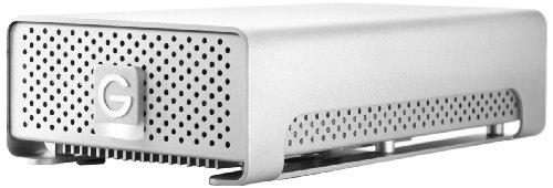 G-Technology G-RAID mini 1TB Dual External Hard Drive w/ eSATA, USB 2.0, Firewire 400, Firewire 800 Interfaces and RAID 0/1 0G01652