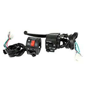 Motorcycle Handlebar High Low Beam Headlight Electrical Switch