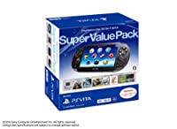 PlayStation Vita Super Value Pack 3G/Wi-Fiモデル クリスタル・ブラック