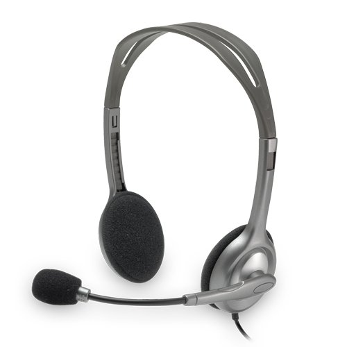 Logitech 981-000214 H110 3.5Mm Connector Stereo Headset