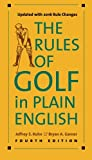 img - for The Rules of Golf in Plain English, Fourth Edition book / textbook / text book