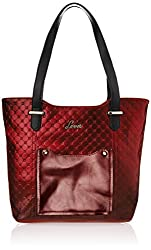 Lavie Tote Bag Handbag (Red) (L05611068041)
