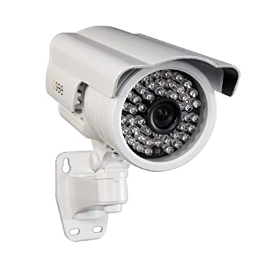 Q-See QD6504B Sony Exview Effio-E CCD II Elite 650 TVL Resolution Camera with 150-Feet of Night Vision (White)