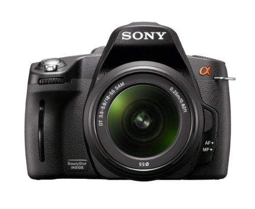 Sony DSLRA390L Alpha Digital SLR Camera with SAL1855 Lens (14.2MP 2.5 inch LCD)