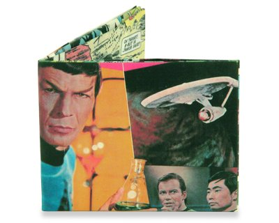 Dynomighty Men's Star Trek Issue 1 Mighty Wallet, Multi, One Size Picture