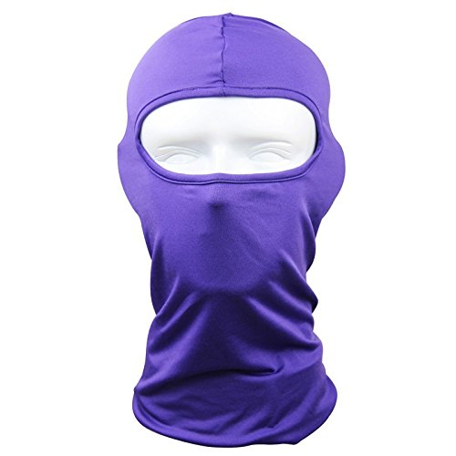 Lycra Quick Dry Breathable Well Full Face Mask Soft Skin-friendly Balaclava Hood For Motorcycle Ski Cycling and other Outdoor Sports -For Women and Men (Easton Motors compare prices)