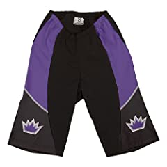 NBA Sacramento Kings Ladies Cycling Shorts, X-Small by VOmax