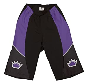 NBA Sacramento Kings Ladies Cycling Shorts, X-Large by VOmax