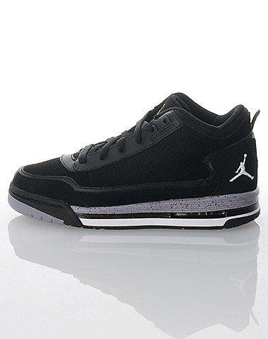 NIKE Jordan C Series Kids' Basketball Shoe, Black/White/Red/Cement