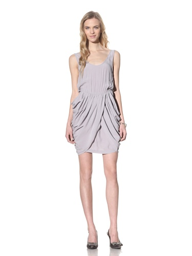 camilla-and-marc-womens-pintail-draped-crepe-singlet-dress-pewter-grey-10-us