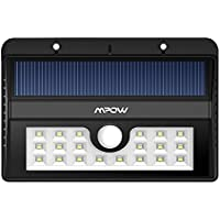 Mpow Solar Powered Outdoor Motion Active 20 LED Lights