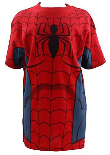 Marvel Official Spider-man Spidey Costume Boys Youth T-shirt Sizes 7-16