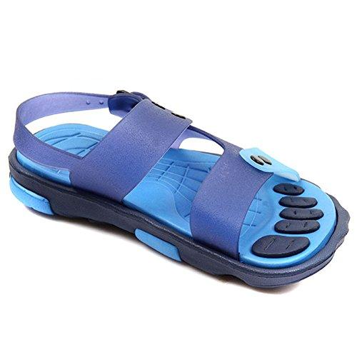 Jungen Sandalen Kinderaußen Sandalen Slipper EVA Pantoffeln Jungen (26, blau)