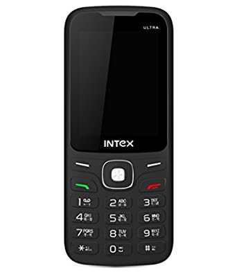 Intex Ultra, 3000 Dual Sim, (Black-Red)