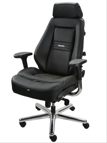 Recaro Advantage Executive Leather Office Chair - Dark Blue/Black front-828916