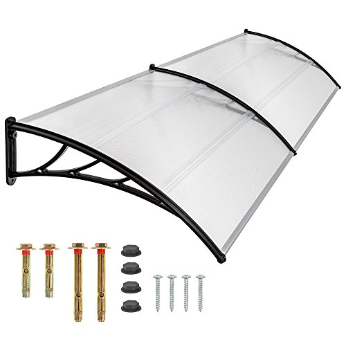 tectake-front-door-canopy-porch-rain-protector-awning-lean-to-roof-shelter-300x100-cm-by-tectake