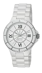 Esprit Damen-Armbanduhr Analog Keramik EL101322F01