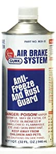 Gunk M2832 Air Brake System Anti-Freeze and Rust Guard - 32 oz. from Radiator Specialties