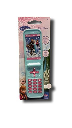 Disney Frozen Toy Flip Phone - 1