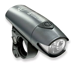 Planet Bike Beamer 3 LED Bicycle Light with Quick Cam Bracket Mount by Planet Bike