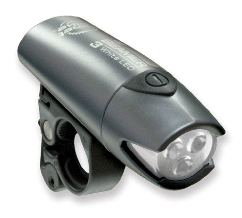Planet Bike Beamer 3 Led Bicycle Light With Quick Cam Bracket Mount front-315533
