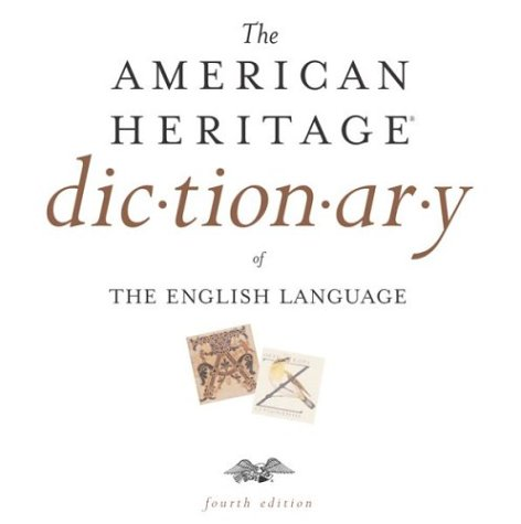 AMERICAN DICTIONARY HERITAGE