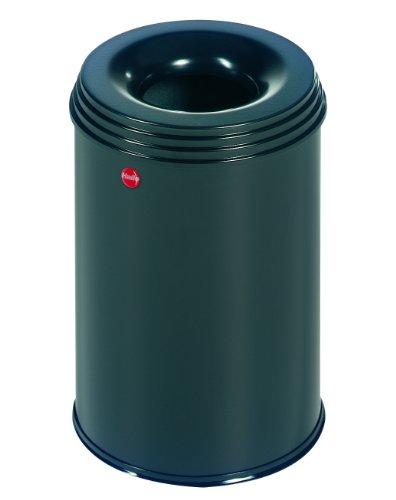 hailo-flame-extinguishing-wastepaper-basket-profiline-safe-15l-black