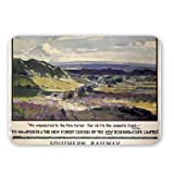 Southern Railway Hampshire, New Forest, Bournemouth - Mouse Mat - Highest Quality Natural Rubber