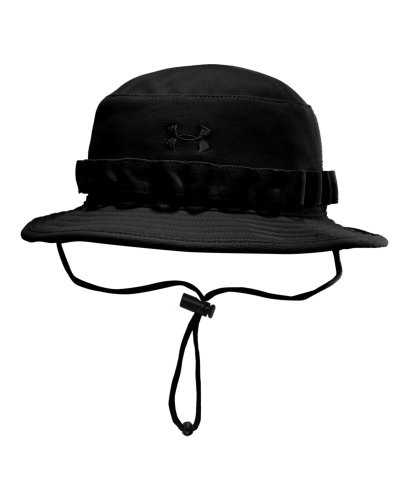 Under Armour 1219730 Black Men's Tactical Bucket Hat OSFA