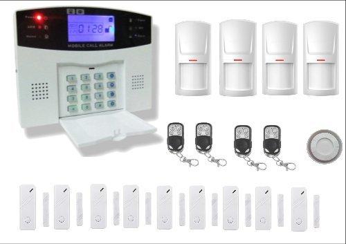 Bullnet Systems Alarme Maison Sans Fil T 233 L 233 Phonique Gsm