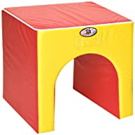Foamnasium Tunnel, Red/Yellow