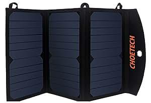 handy solar ladeger t choetech 19w usb solar ladeger t f r. Black Bedroom Furniture Sets. Home Design Ideas