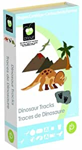 Cricut Cartridge, Dinosaur Tracks