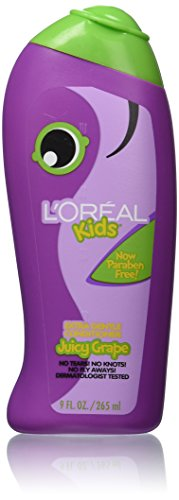 L'Oreal Kids Extra Gentle Grape Conditioner, 9.0 Fluid Ounce - 1