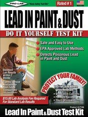 Pro-Lab Lead Test Kit For Paint & Dust Clamshell (Lead Paint Test Kit compare prices)