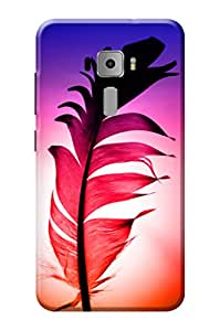 Asus Zenfone 3 Printed Back Cover KanvasCases Premium Quality Designer Printed 3D Lightweight Slim Matte Finish Hard Case Back Cover for Asus Zenfone 3 ZE552KL ( 5.5 Inch ) + Free Mobile Viewing Stand