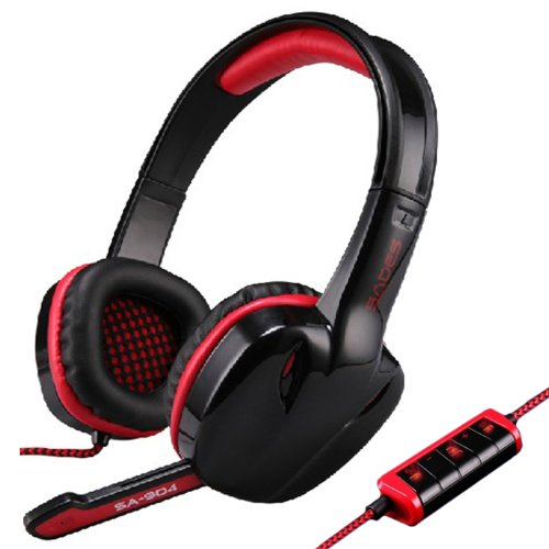 Zps Sades Sa-904 Stereo 7.1 Surround Gaming Headset Headband Headphone Microphone