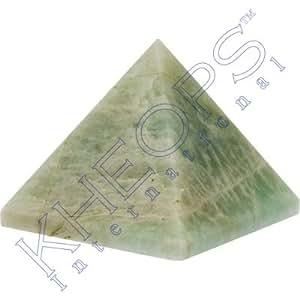 Gemstone Carving Pyramid Amazonite (Each)
