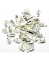 Imagine Perles - 50 Pinces lacet 3 mm argenté